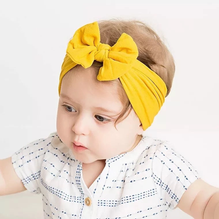 Knot Nylon Bow Headband