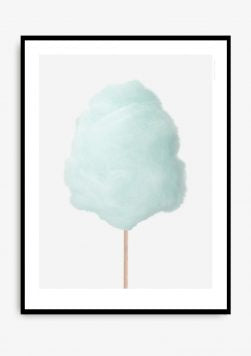 Mint Cotton Candy Poster