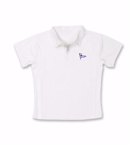 RYC Joe Puppy Boys White Polo