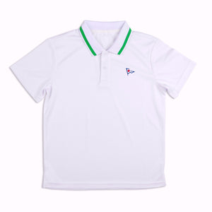 RYC Joe Puppy Boys Polo Lime Trim