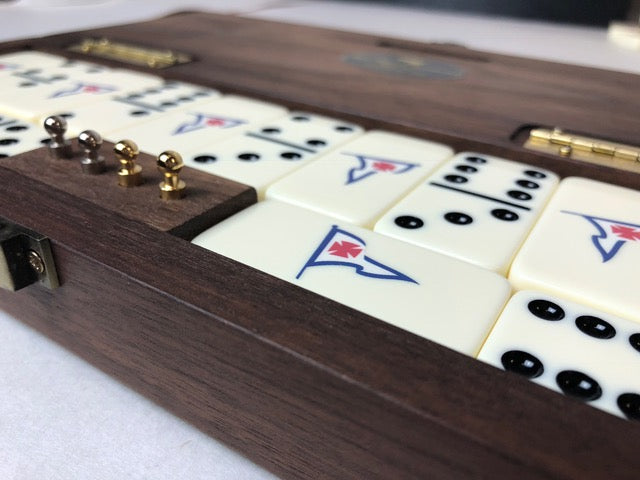 The Mariner Custom RYC Dominoes Set