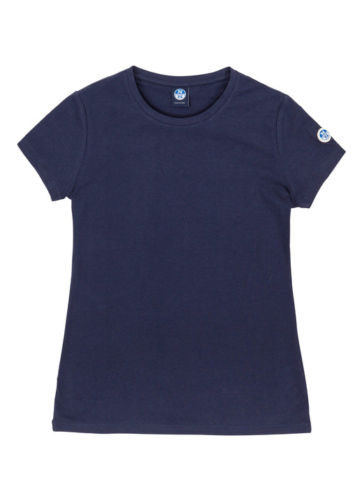 North Sails Women's Short Sleeve Cotton-Jersey T-Shirt