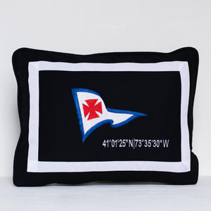 Riverside Yachting Pillow