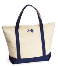 Harbor Cruise Boat Tote
