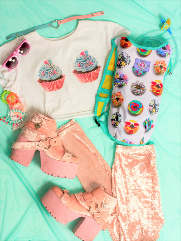 CUTE BUT CRAZY: DONUT LOVER RAVE LOOK
