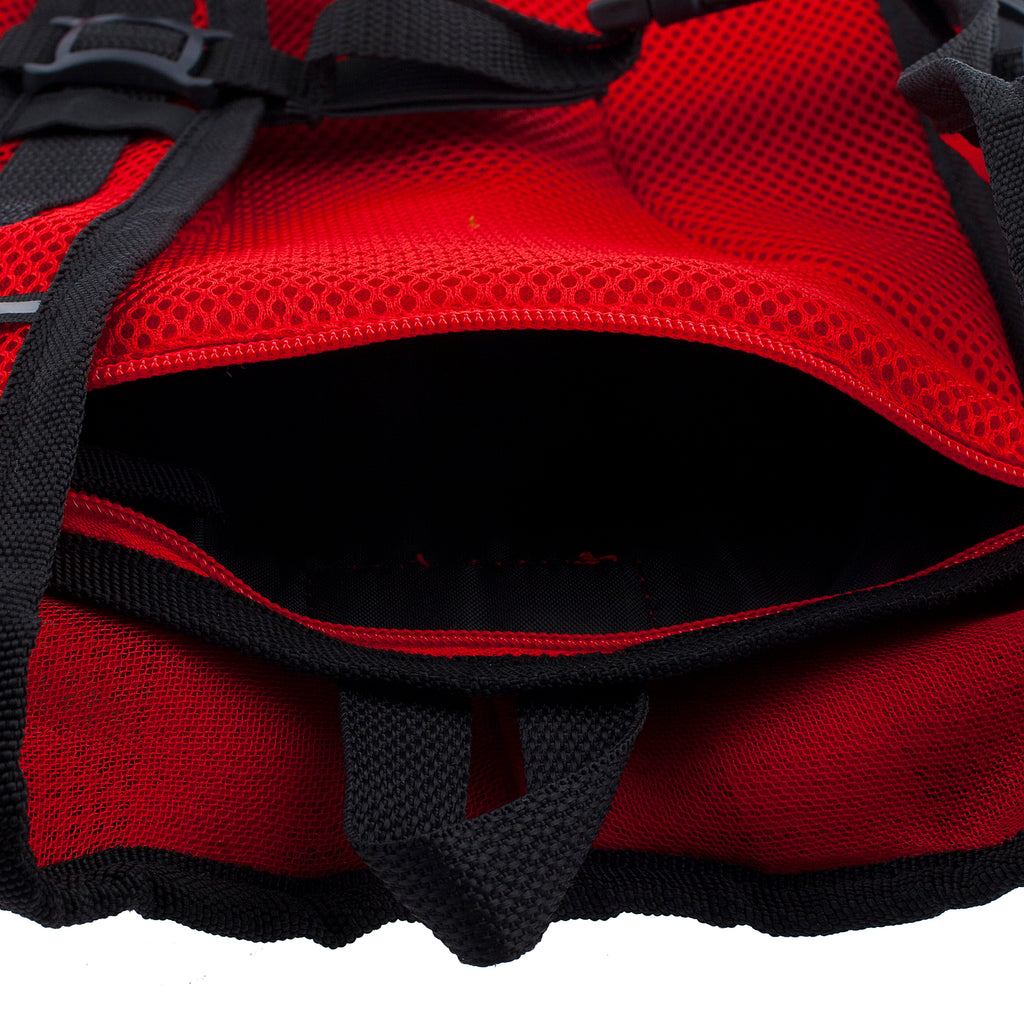 Hippie Trip- Black/Red - Dan-Pak hydration packs for raves music festivals camping hiking. Awesome gear for edm lifestyle. Hydro pack, water pack, dan-pack, dan pak, dan pack, danpakbags, dan pak bags, backpack, rave