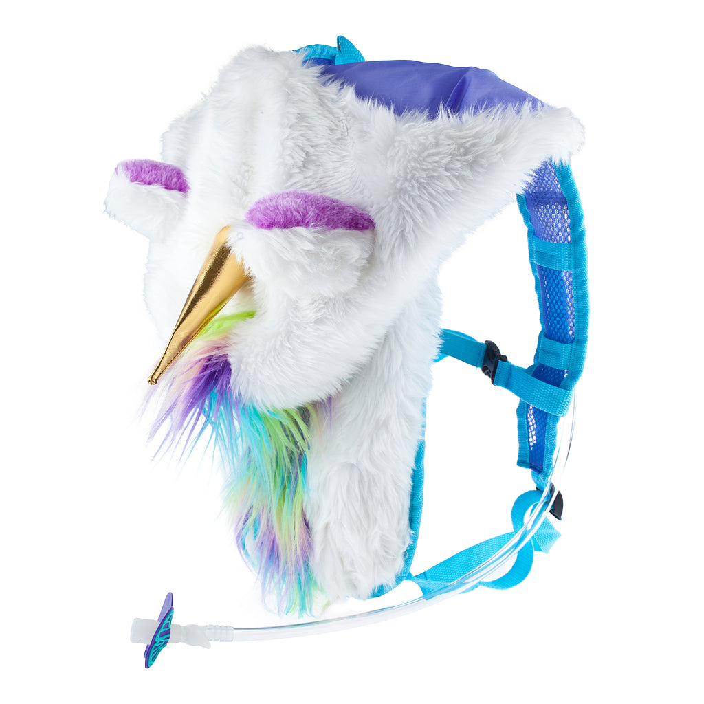 MAGICAL UNICORN DAN-PAK - Dan-Pak hydration packs for raves music festivals camping hiking. Awesome gear for edm lifestyle. Hydro pack, water pack, dan-pack, dan pak, dan pack, danpakbags, dan pak bags, backpack, rave