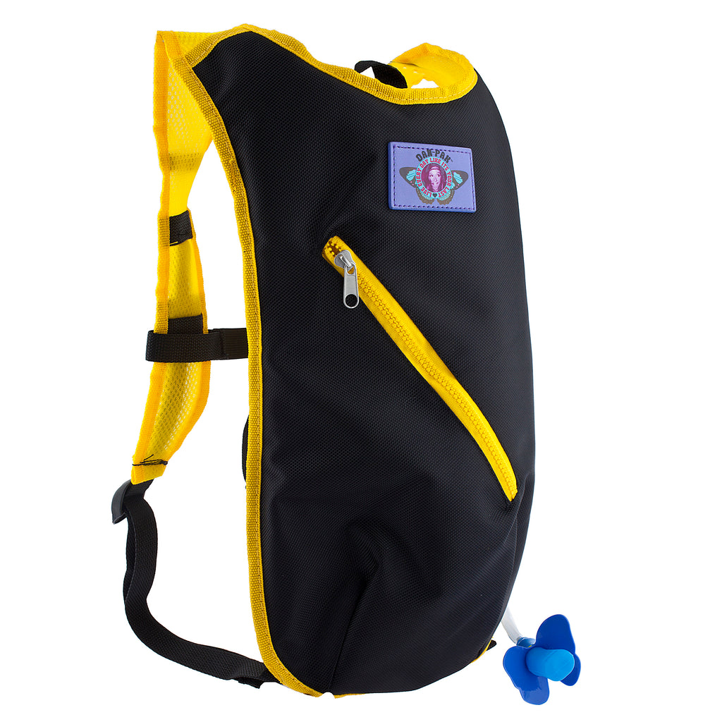 BASIC BEE - Dan-Pak hydration packs for raves music festivals camping hiking. Awesome gear for edm lifestyle. Hydro pack, water pack, dan-pack, dan pak, dan pack, danpakbags, dan pak bags, backpack, rave