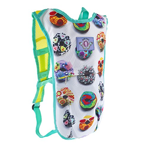 DONUT LOVE - Dan-Pak hydration packs for raves music festivals camping hiking. Awesome gear for edm lifestyle. Hydro pack, water pack, dan-pack, dan pak, dan pack, danpakbags, dan pak bags, backpack, rave