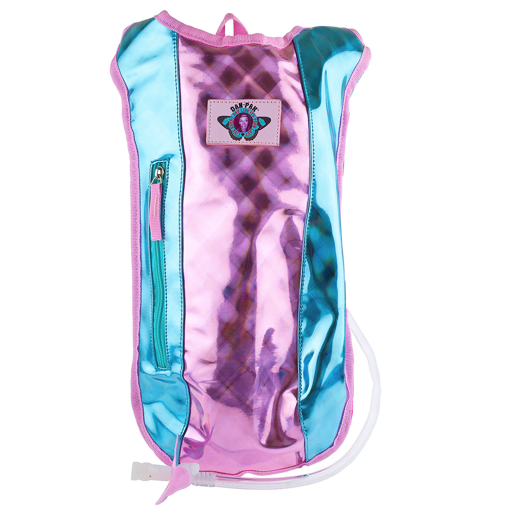 COTTON CANDY - Dan-Pak hydration packs for raves music festivals camping hiking. Awesome gear for edm lifestyle. Hydro pack, water pack, dan-pack, dan pak, dan pack, danpakbags, dan pak bags, backpack, rave
