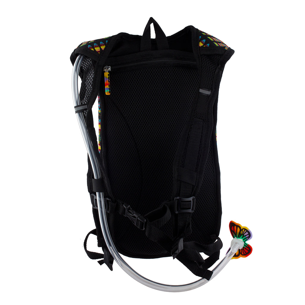 NEON TRIBE - Dan-Pak hydration packs for raves music festivals camping hiking. Awesome gear for edm lifestyle. Hydro pack, water pack, dan-pack, dan pak, dan pack, danpakbags, dan pak bags, backpack, rave