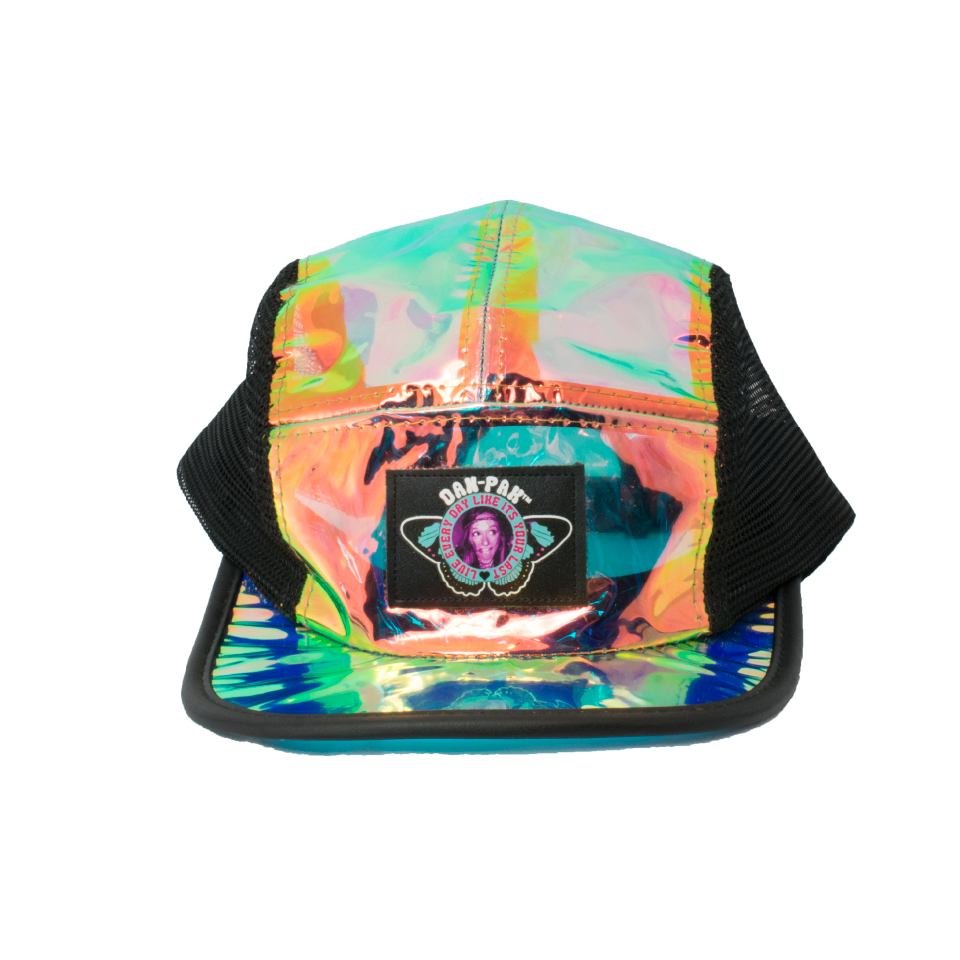 Clear Iridescent Snapback