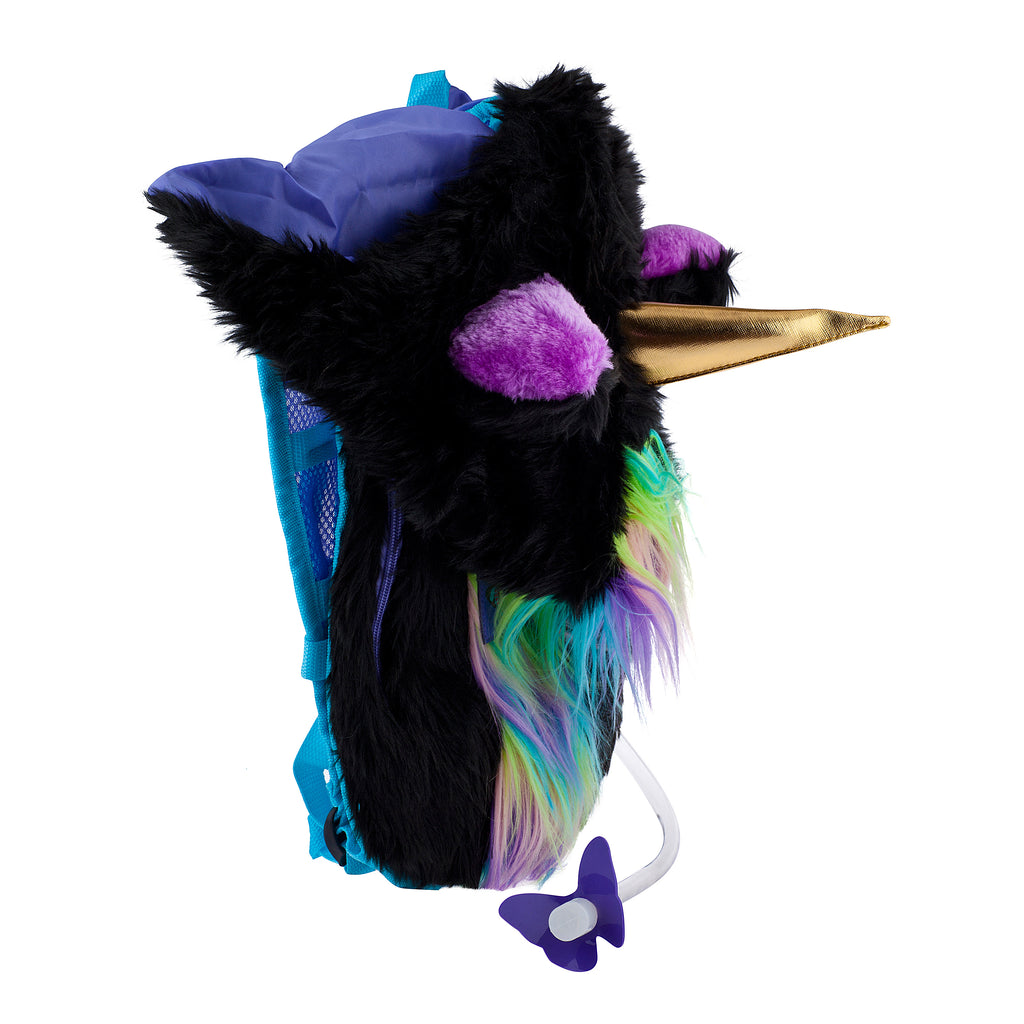 DARK MYSTICAL UNICORN - Dan-Pak hydration packs for raves music festivals camping hiking. Awesome gear for edm lifestyle. Hydro pack, water pack, dan-pack, dan pak, dan pack, danpakbags, dan pak bags, backpack, rave