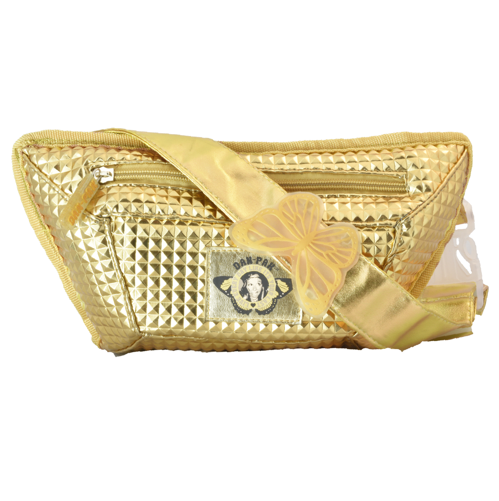 Dripping Gold Flask Fanny Pack