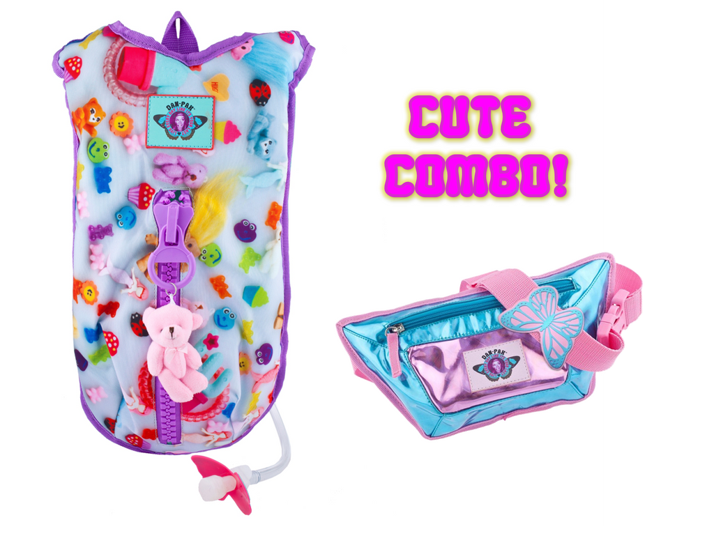 TOYS Hydration Pack and Cotton Candy Fanny Pack Combo!