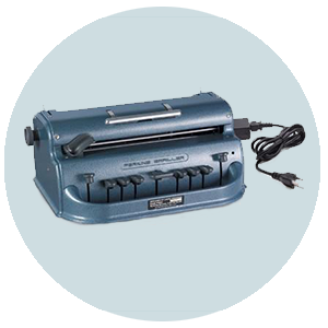 electric brailler