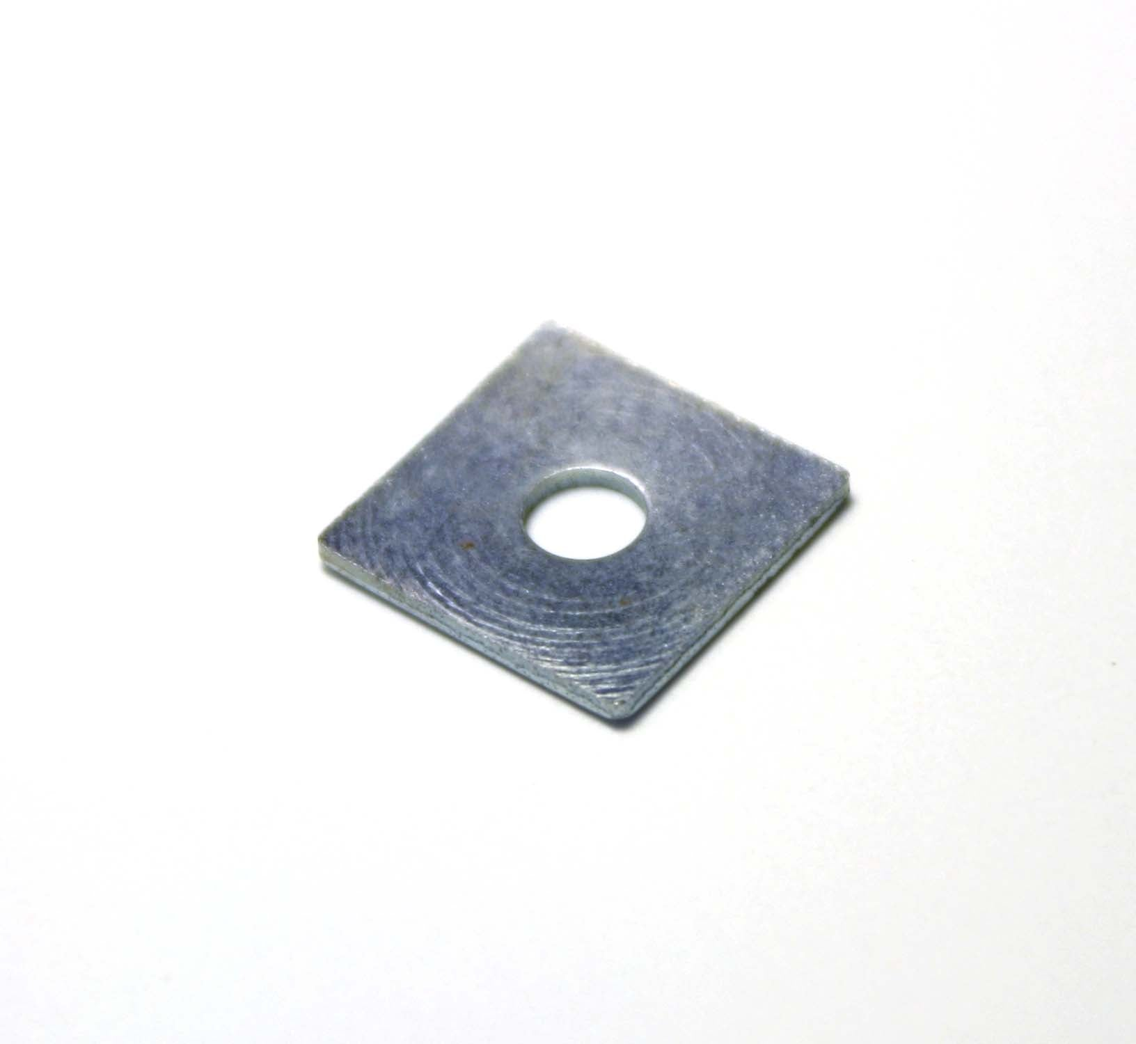 Square Plate with hole in middle