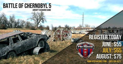 Battle Of Chernobyl 5 - Airsoft Scenario Event