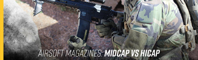 Airsoft Magazines: Midcap VS HiCap