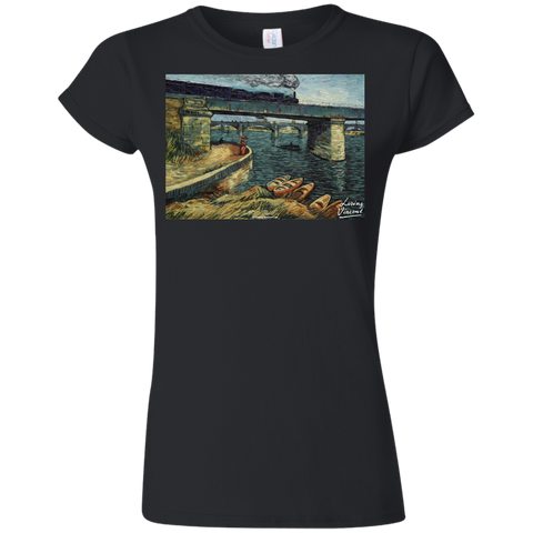 Railway Bridge G640L Gildan Softstyle Ladies' T-Shirt