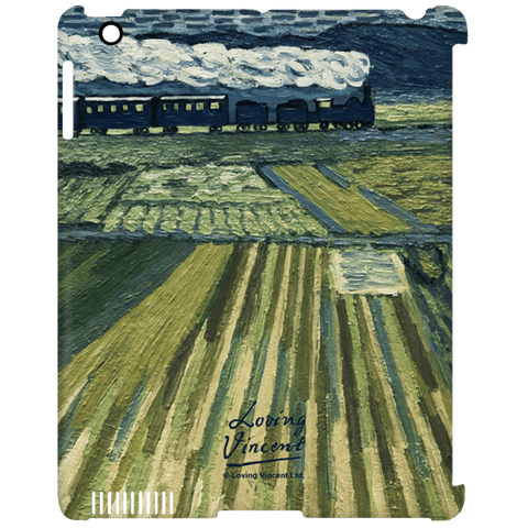 Landscape Train iPad Clip Case