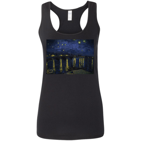 Starry G645RL Gildan Ladies' Softstyle Racerback Tank