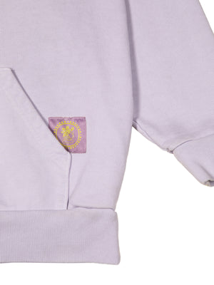 Anthurium Hoodie (in Lavender + Charcoal)