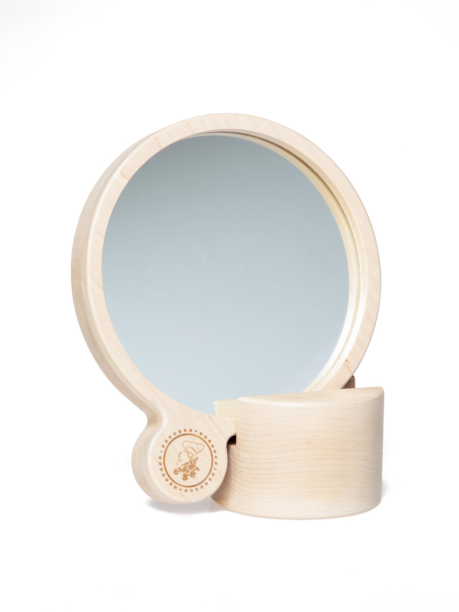 Handheld Mirror with Stand