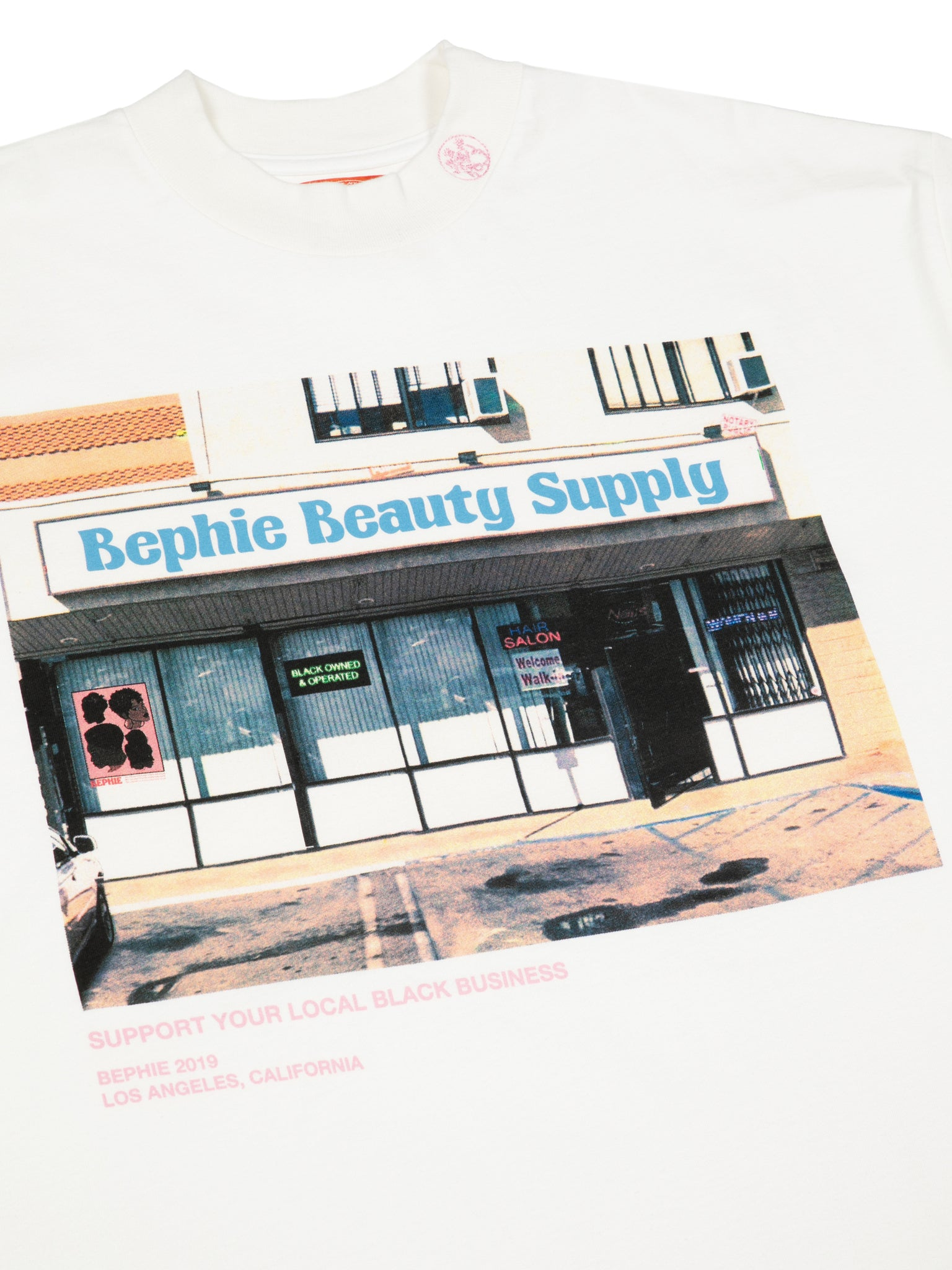 Beauty Shop Oversized Tee w/Drawstring