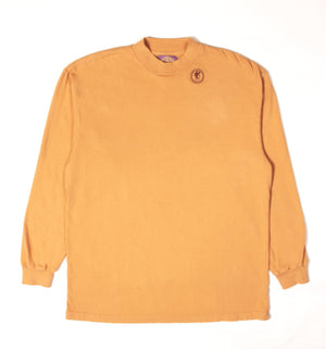 Oversized Camel Stamp Long Sleeve Tee