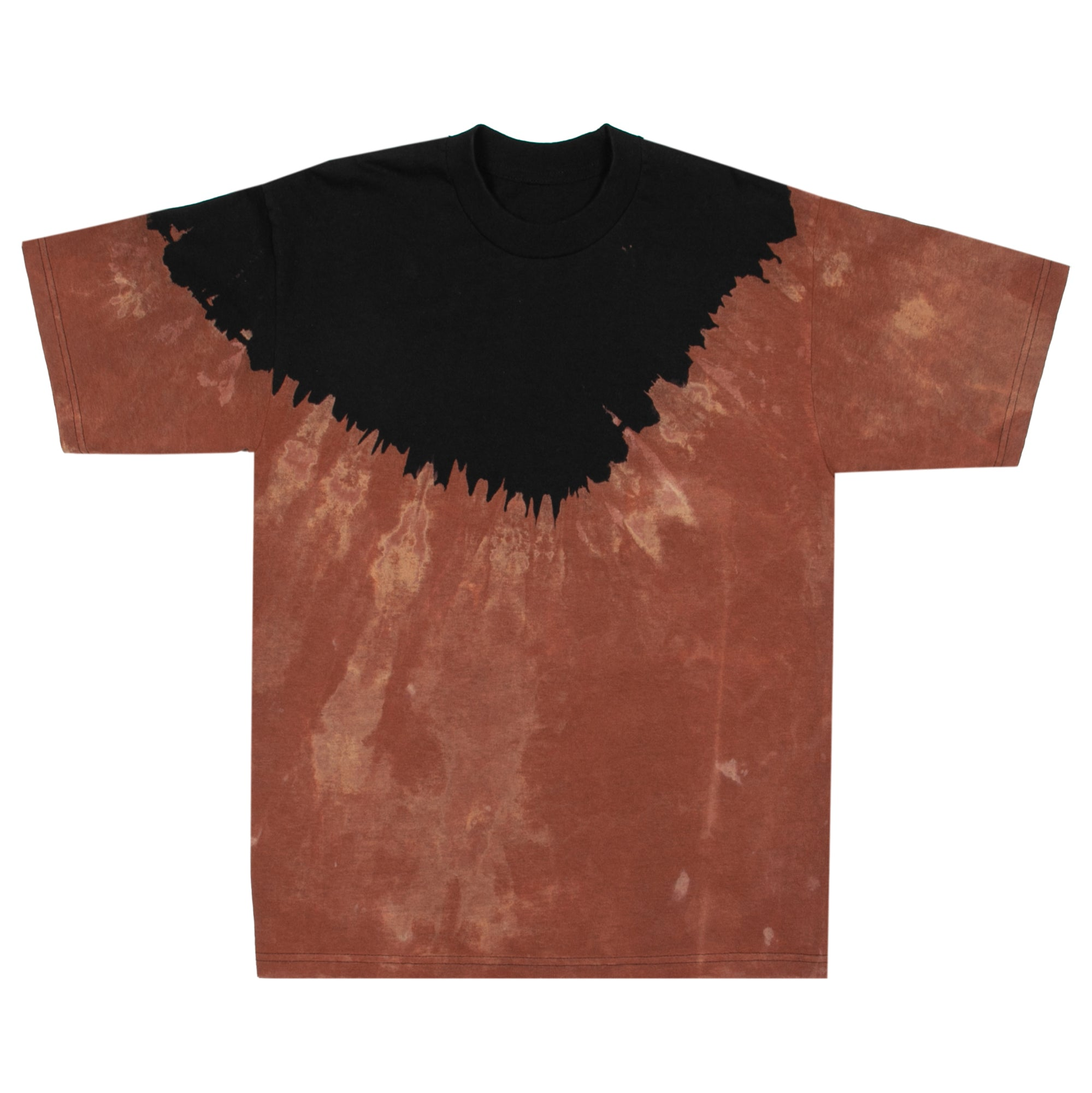 Short Sleeve Bleach Dyed Volcano T-shirt