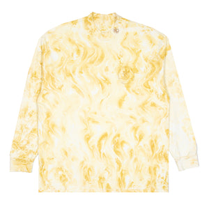 Long Sleeve Marble Dyed Tee