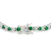 Evergreen Tennis Bracelet