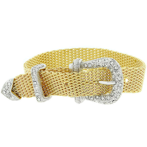 Golden Buckle Bracelet