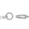 Silvertone Finish Horseshoe Bracelet
