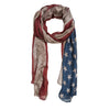 American Flag Inspired Scarf