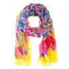 Cozumel Yellow Watercolor Scarf
