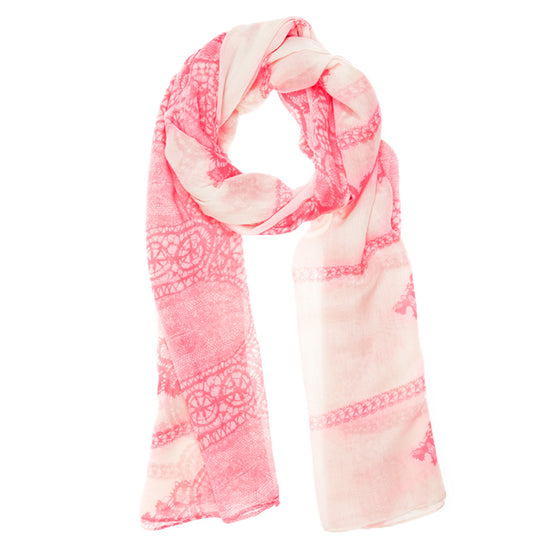Tina Scarf in Pink