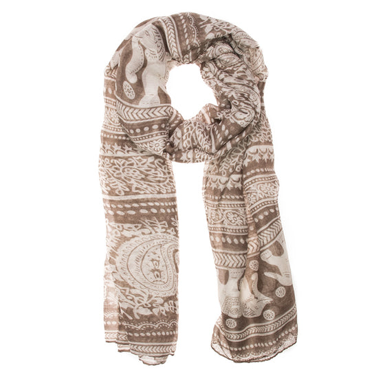 Michelle Scarf in Beige