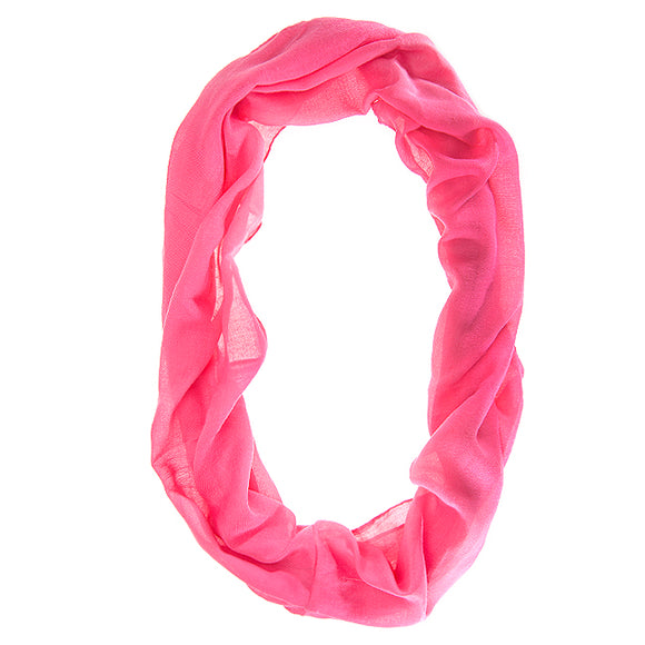 Dharma Pink Infinity Scarf