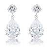 Shimmering CZ Earrings