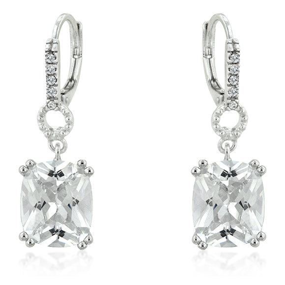 Timeless Radiant Drop Earrings