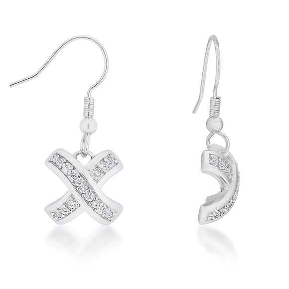 Timeless Pave Drop Earrings