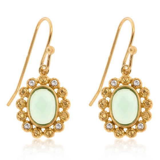 Peridot Estate Earrings