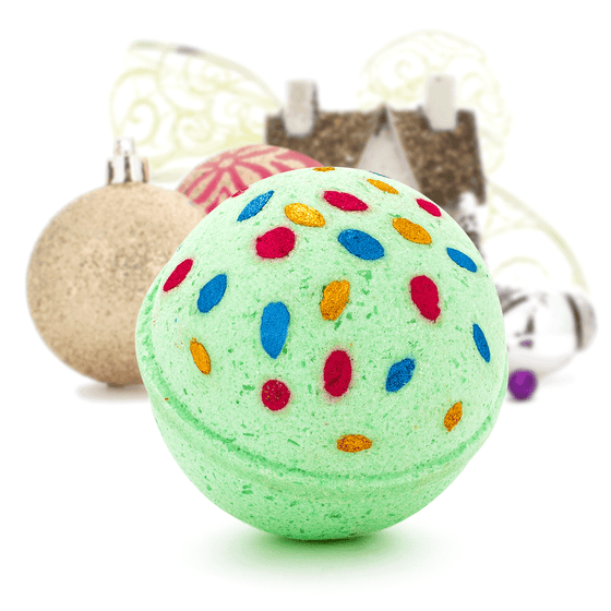 PRE-SALE: Merry Holiday Lights Bath Bomb