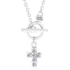 Faith Toggle Necklace