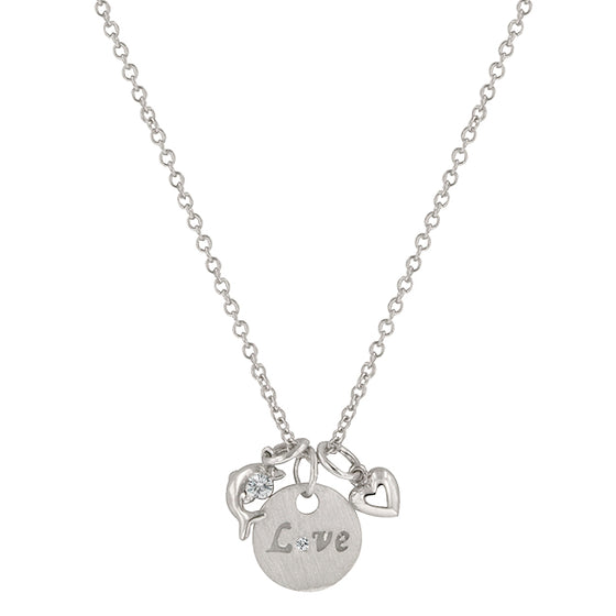 Love and Heart Necklace