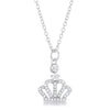 Tabitha 0.5 ct Crown Pendant
