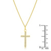 Simple Golden Cross Pendant