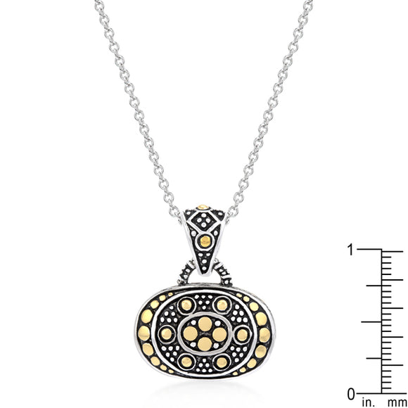 Antique Cobblestone Pendant